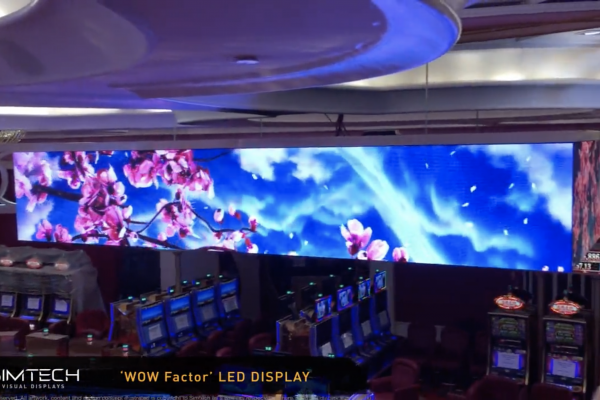 WOW Factor LED Ceiling Display