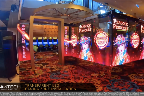Transparent LED Zone